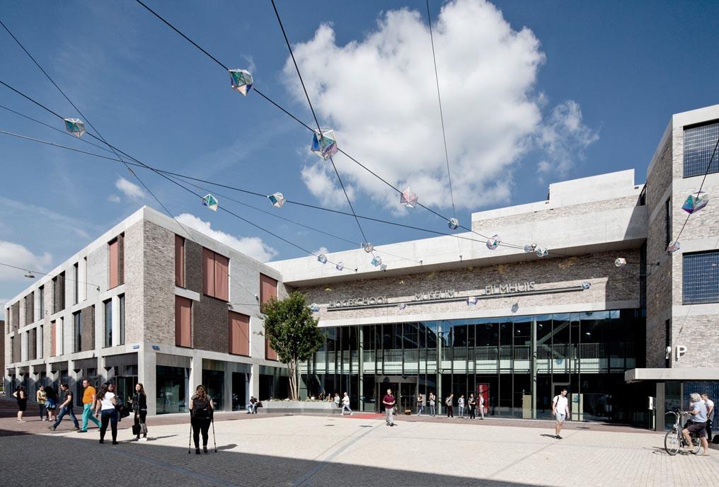 De Domijnen, Hogeschool Zuid, Kunst en onderwijscluster te Sittard